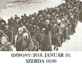 Meghívó megemlékezésre 2018.január 10.