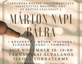 Márton napi bál 2018. november 10.